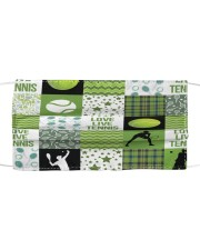 Tennis Love T824 Cloth face mask front