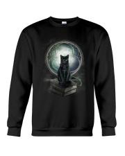 Nyx - Magical Black Cat - 1112 - N1 Crewneck Sweatshirt thumbnail