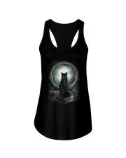 Nyx - Magical Black Cat - 1112 - N1 Ladies Flowy Tank thumbnail