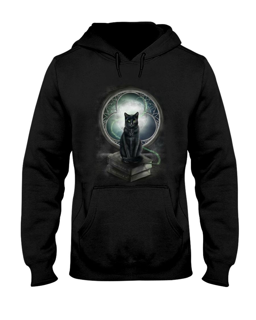 Nyx - Magical Black Cat - 1112 - N1 Hooded Sweatshirt