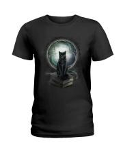 Nyx - Magical Black Cat - 1112 - N1 Ladies T-Shirt thumbnail