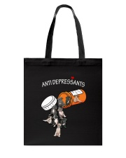 American Staffordshire Terrier Anti Tote Bag thumbnail