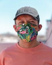 Tropical Bird Flamingo H30740 Cloth face mask aos-face-mask-lifestyle-06