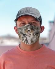 Awesome Australian Shepherd G82703 Cloth face mask aos-face-mask-lifestyle-06