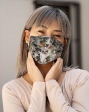 Awesome Australian Shepherd G82703 Cloth face mask aos-face-mask-lifestyle-17
