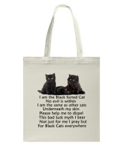 Black Cat Mug Tote Bag thumbnail