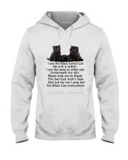 Black Cat Mug Hooded Sweatshirt thumbnail