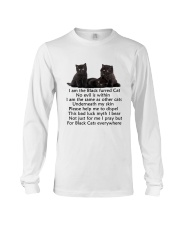 Black Cat Mug Long Sleeve Tee thumbnail