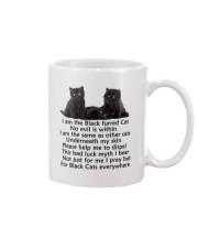 Black Cat Mug Mug front