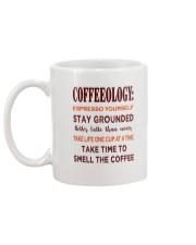 Coffee Coffeeology Mug back