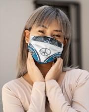 Hippie Bus G82766 Cloth face mask aos-face-mask-lifestyle-17