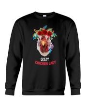 Farm Chicken Lady Crewneck Sweatshirt thumbnail