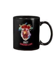 Farm Chicken Lady Mug thumbnail