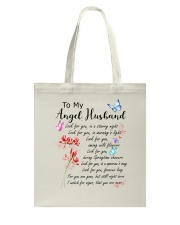Family To My Angel Husband Look for you Tote Bag thumbnail