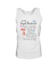 Family To My Angel Husband Look for you Unisex Tank thumbnail
