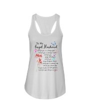 Family To My Angel Husband Look for you Ladies Flowy Tank thumbnail