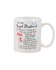 Family To My Angel Husband Look for you Mug front