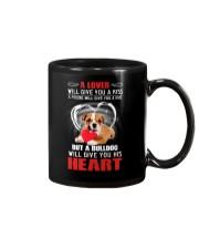 Bulldog Give You Heart Mug thumbnail