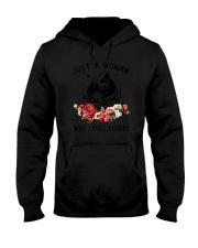 Loves Fishing Hooded Sweatshirt thumbnail