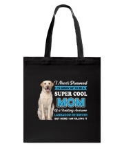 Dog Labrador Retriever Super Mom Tote Bag thumbnail