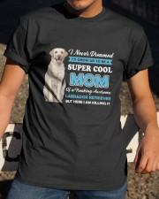 Dog Labrador Retriever Super Mom Classic T-Shirt apparel-classic-tshirt-lifestyle-28
