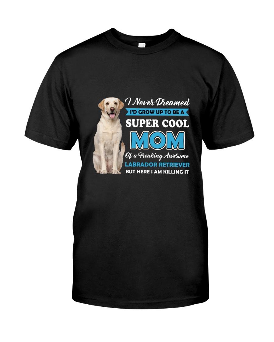 Dog Labrador Retriever Super Mom Classic T-Shirt