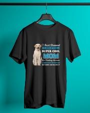 Dog Labrador Retriever Super Mom Classic T-Shirt lifestyle-mens-crewneck-front-3