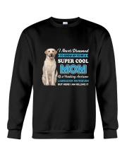 Dog Labrador Retriever Super Mom Crewneck Sweatshirt thumbnail