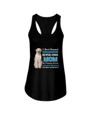 Dog Labrador Retriever Super Mom Ladies Flowy Tank thumbnail