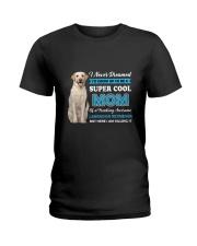 Dog Labrador Retriever Super Mom Ladies T-Shirt thumbnail
