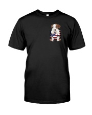 Jack Russell Terrier America Bag Classic T-Shirt front