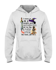 Leonberger Pet My Dog Halloween Hooded Sweatshirt thumbnail
