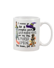 Leonberger Pet My Dog Halloween Mug front