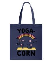 Unicorn Yogacorn Tote Bag thumbnail