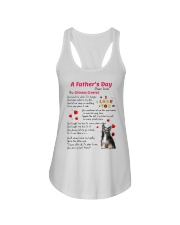 Chinese Crested Poem Ladies Flowy Tank thumbnail