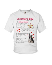 Chinese Crested Poem Youth T-Shirt thumbnail