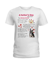 Chinese Crested Poem Ladies T-Shirt thumbnail