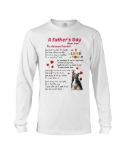 Chinese Crested Poem Long Sleeve Tee thumbnail