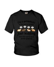 Guinea Pig Aholic Youth T-Shirt thumbnail