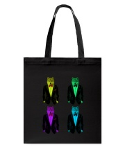 Wolf - See the Wolf - Be the wolf Tote Bag thumbnail