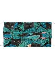 Black Cat Tropical H28851 Cloth face mask front