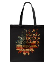 Cross USA Flower T5tf Tote Bag thumbnail