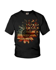Cross USA Flower T5tf Youth T-Shirt thumbnail