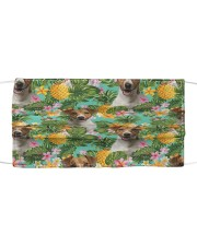 Tropical Pineapple Jack Russell Terrier H25829 Cloth face mask front