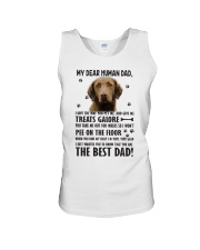 Chesapeake Bay Retriever Dear Human Unisex Tank thumbnail
