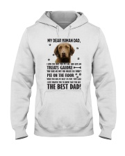 Chesapeake Bay Retriever Dear Human Hooded Sweatshirt thumbnail