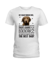 Chesapeake Bay Retriever Dear Human Ladies T-Shirt thumbnail