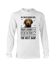 Chesapeake Bay Retriever Dear Human Long Sleeve Tee thumbnail