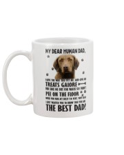 Chesapeake Bay Retriever Dear Human Mug back