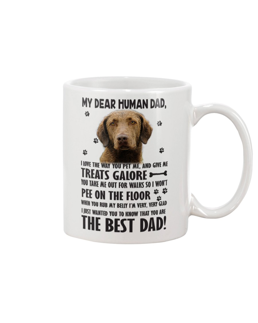 Chesapeake Bay Retriever Dear Human Mug